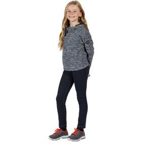 Regatta Kalina Sweat à capuche en polaire Enfant, navy marl
